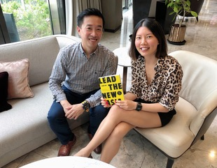 With  Lead The New Asia  author, John Ng.
