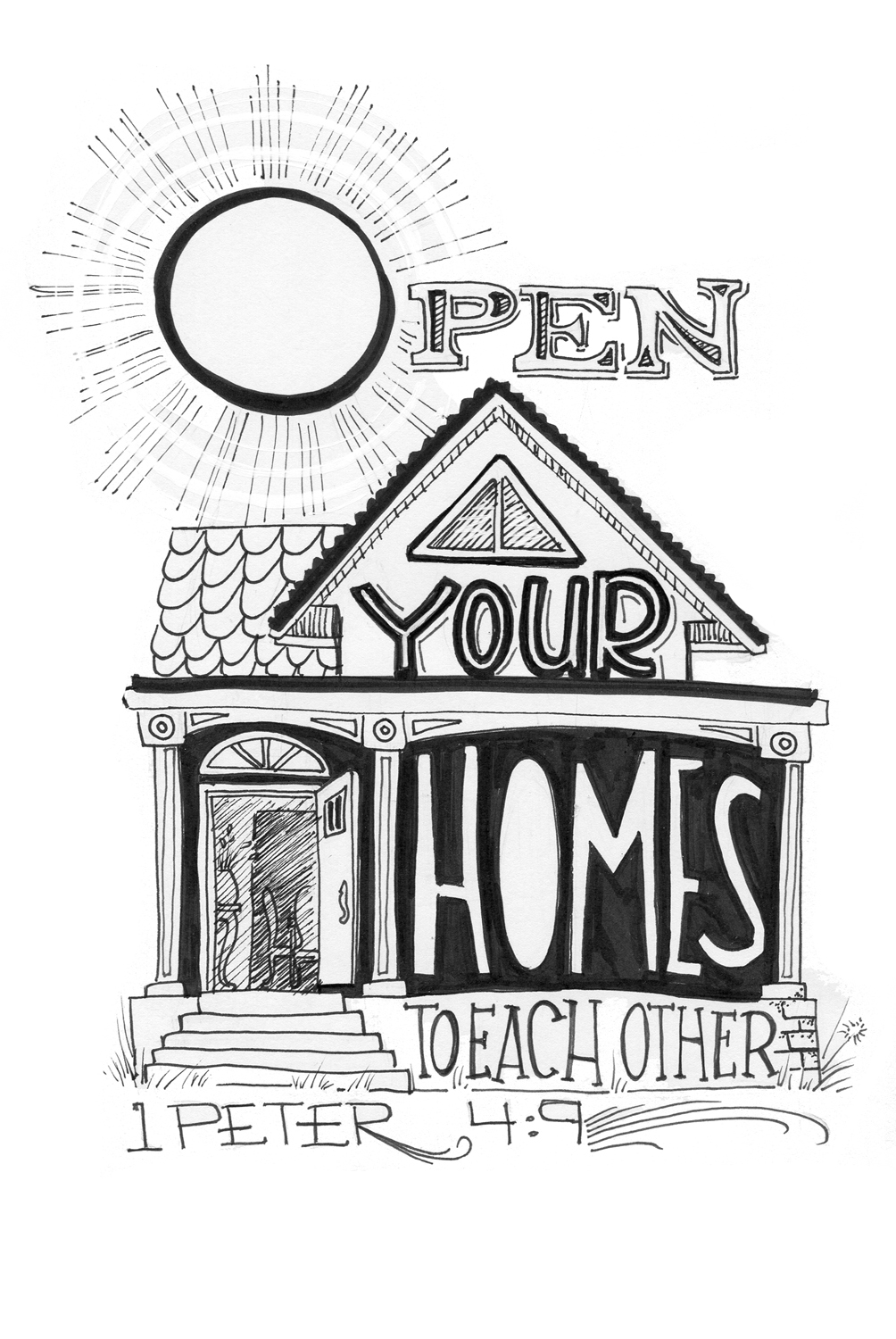 Open Your Homes - Mikela Prevost