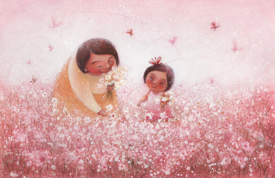 Juana Martinez-Neal : flowerpicking