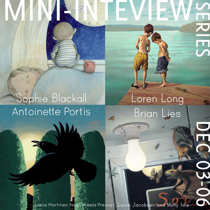 Mini Interviews - Antoinette Portis