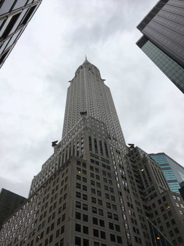 The Chrysler Building a.k.a. my favorite pencil building