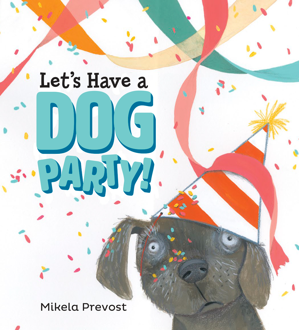 Picture Book News! - Let's Have a Dog Party! is my debut picture book as author/illustrator! It's published by Viking/Penguin and is available now!A sparkling debut that celebrates friendship and encourages empathy, starring a lovable dog.Kate and Frank are best friends. To celebrate Frank's birthday, Kate throws him a party with all her favorite things: lots of friends, dancing in circles, loud singing, and sparkly confetti everywhere. But best friends don't always have the same taste in parties. Frank prefers quiet, sun-drenched naps on his favorite rug. So he hides. Kate must find a way to bring Frank back to the party--on his own terms.