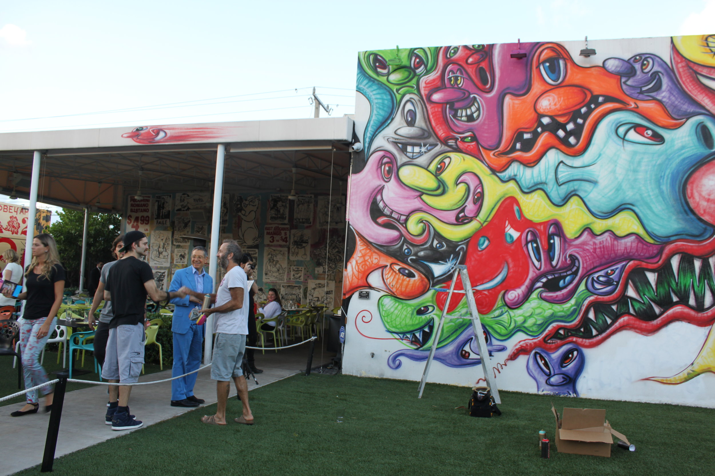 Wynwood Walls at Art Basel 2014
