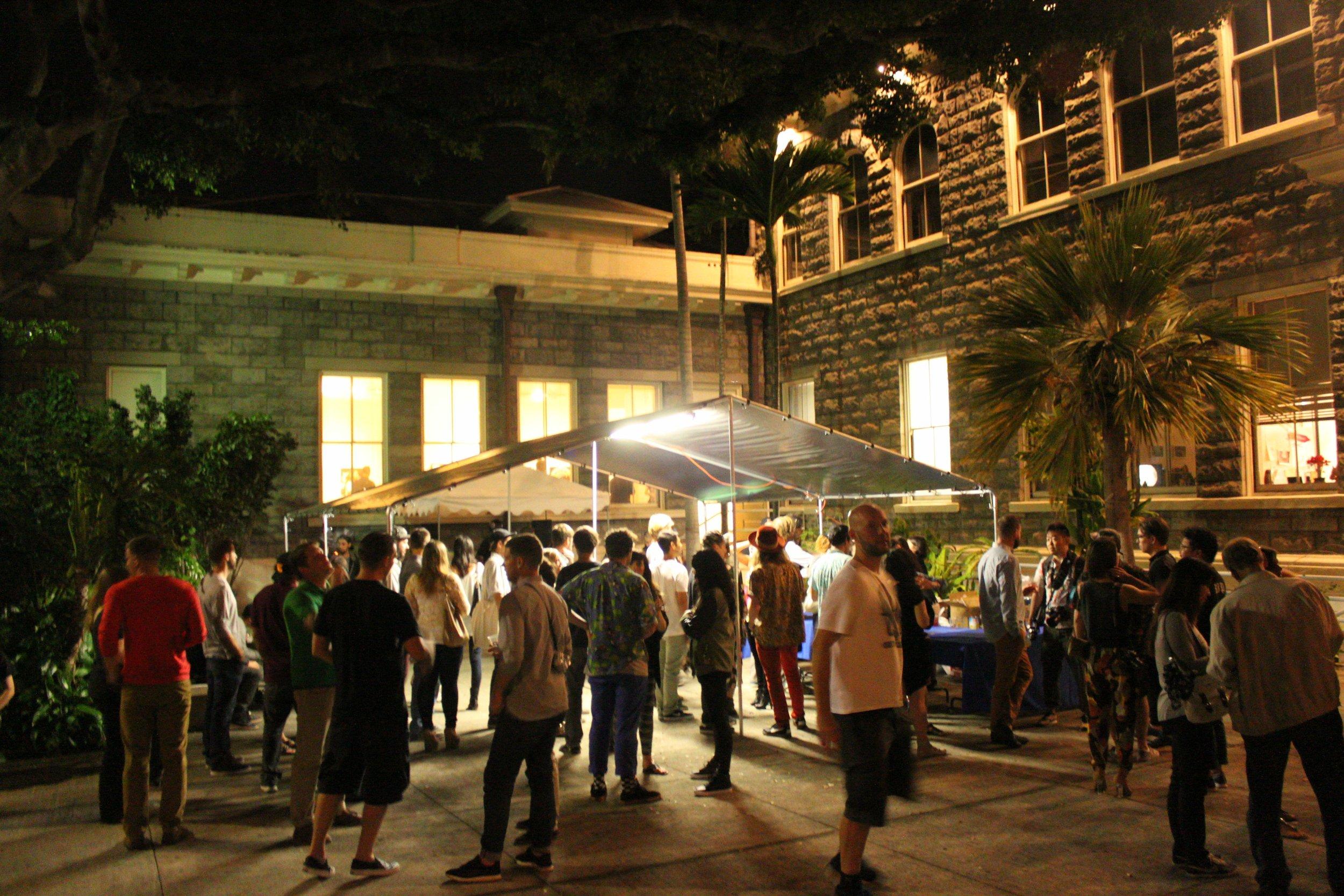 Honolulu Museum of Art School event for POW! WOW! 2014