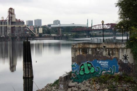 Occupy Walls by Graffiti Against the System (GATS), Portland 2011. Photo: Portland Street Art Alliance