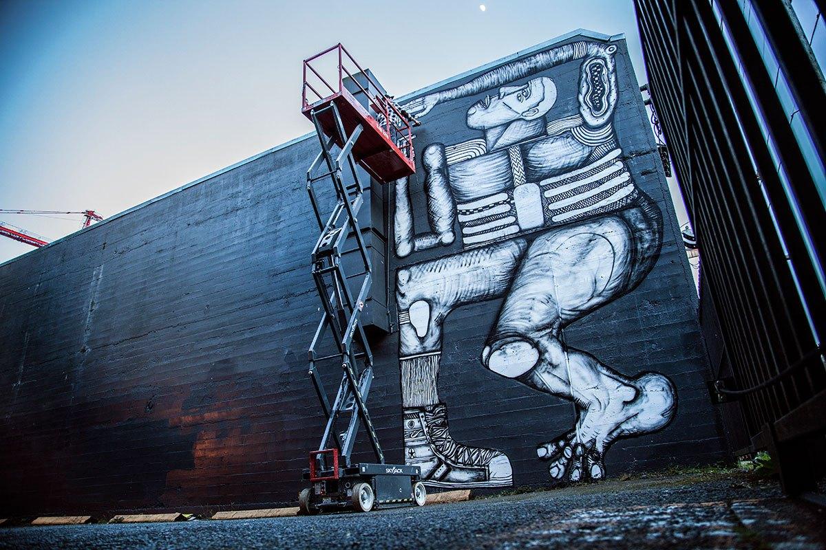 John Sarkis Mural (Photo: Urban Art Works)