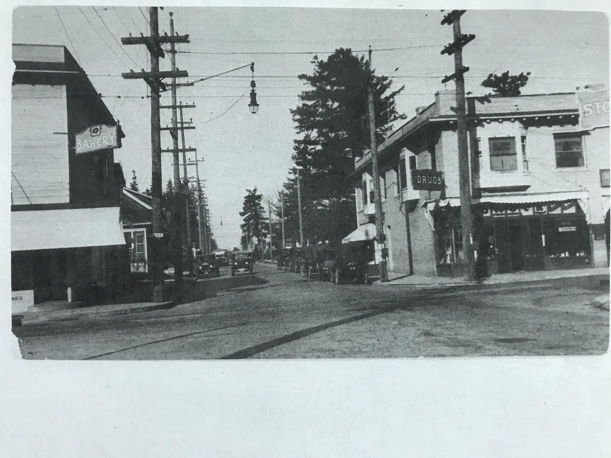 39th & Belmont, 1927