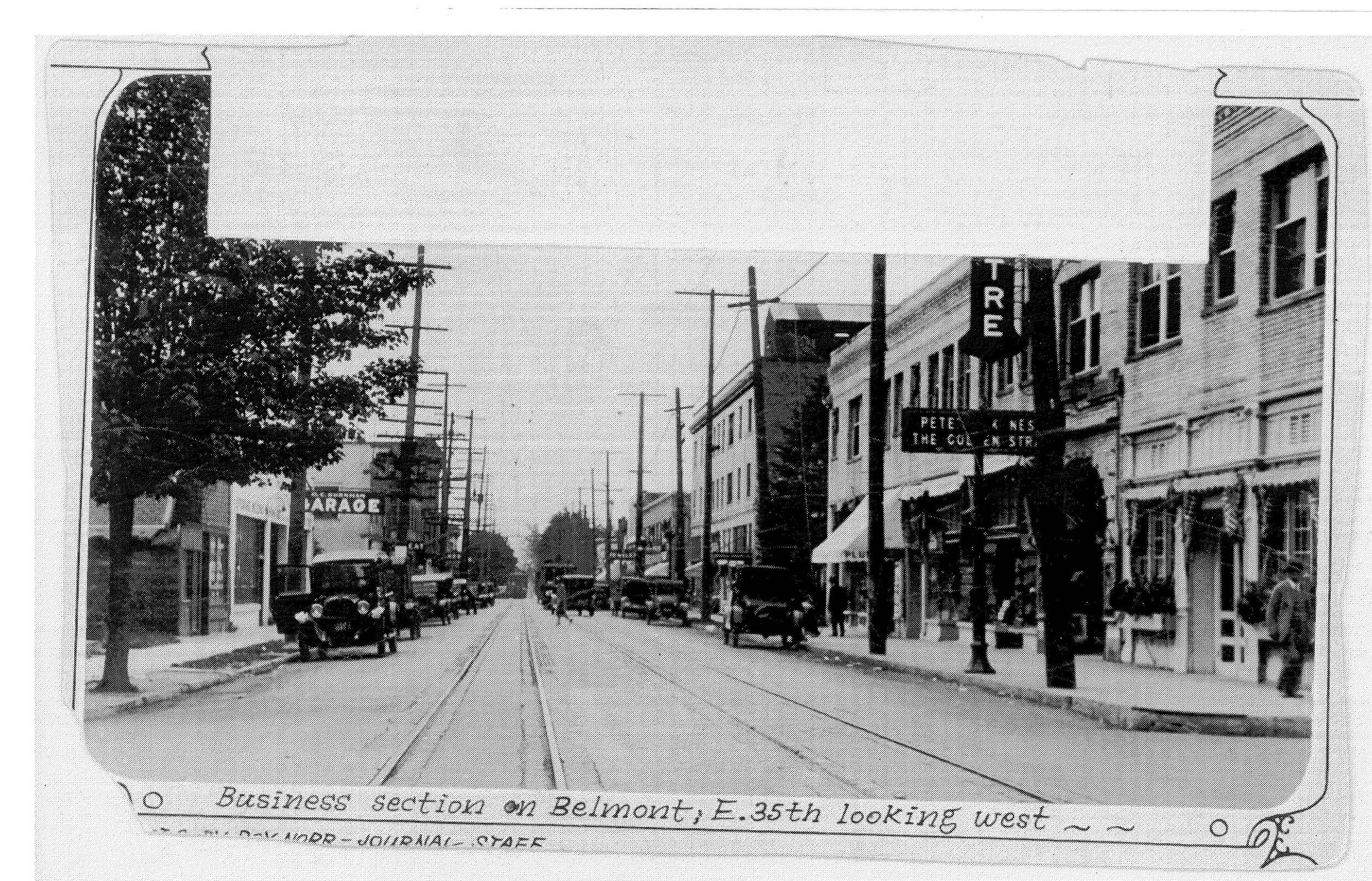 35th & Belmont, 1926
