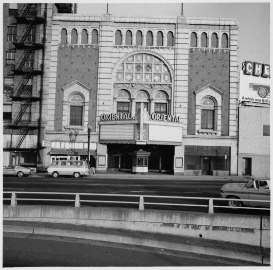 Oriental Theater, 1969