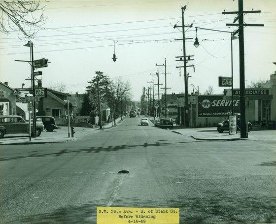 39th near Stark, 1949
