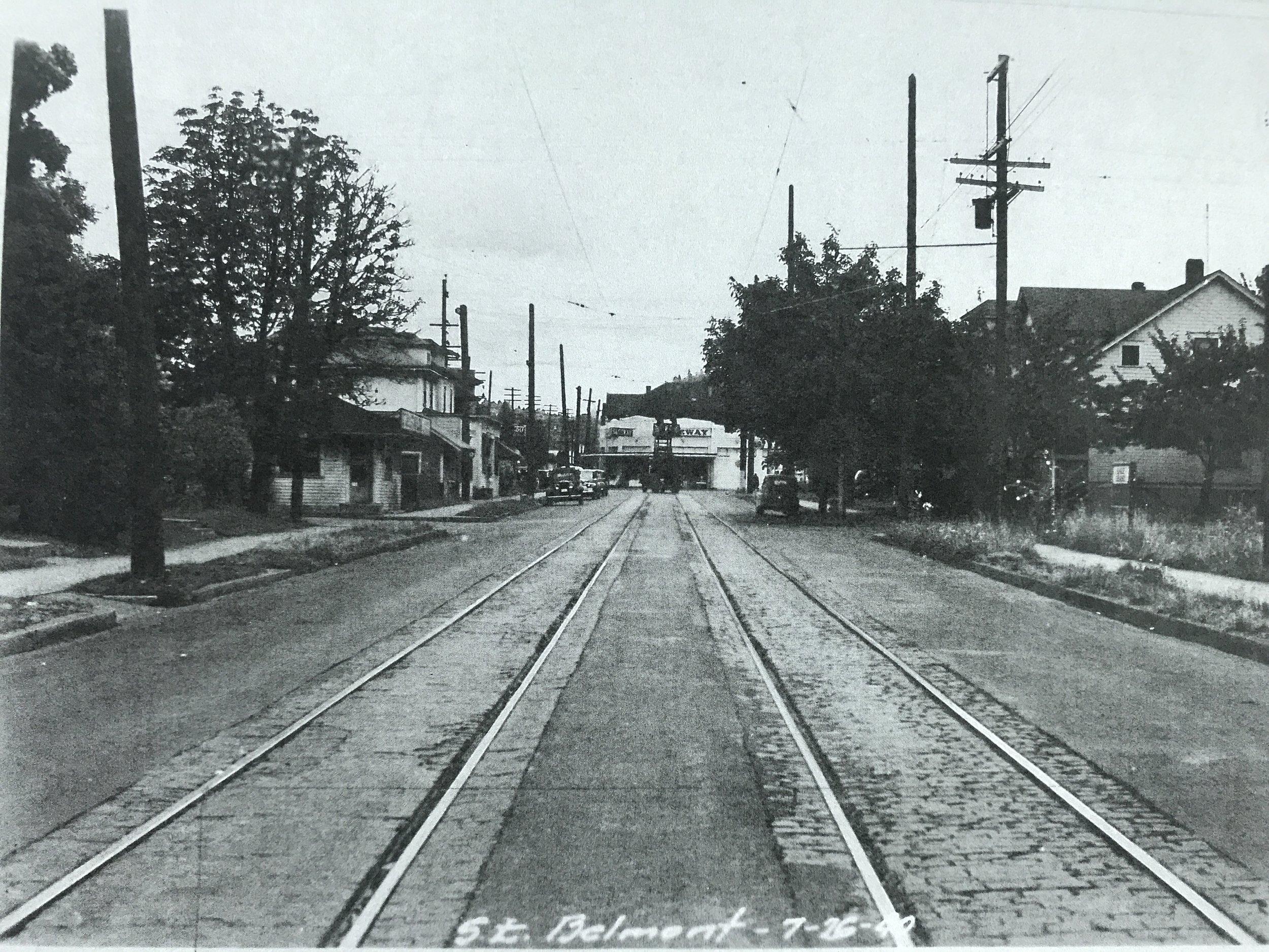 39th & Belmont, 1940