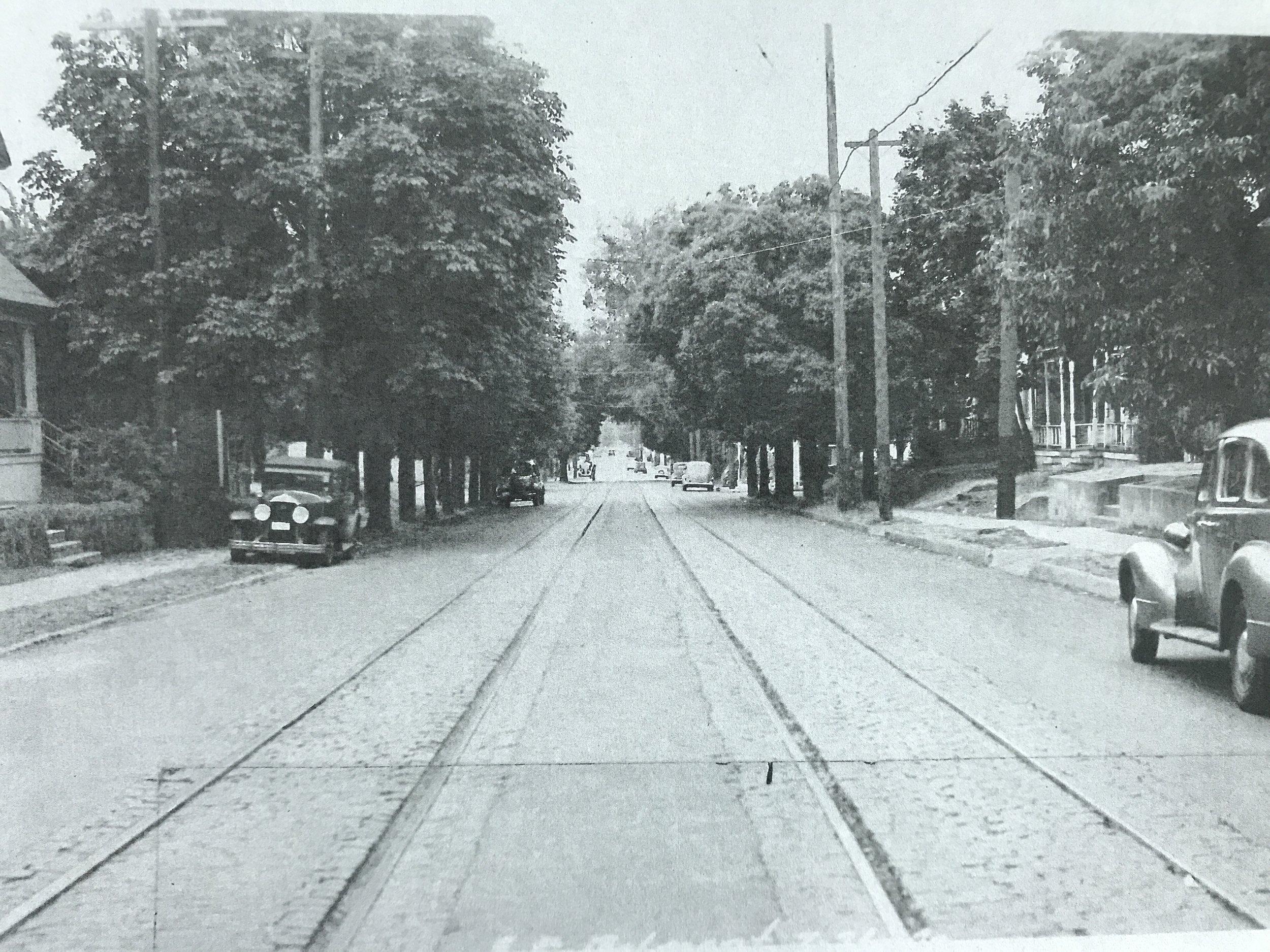 SE Belmont, 1940
