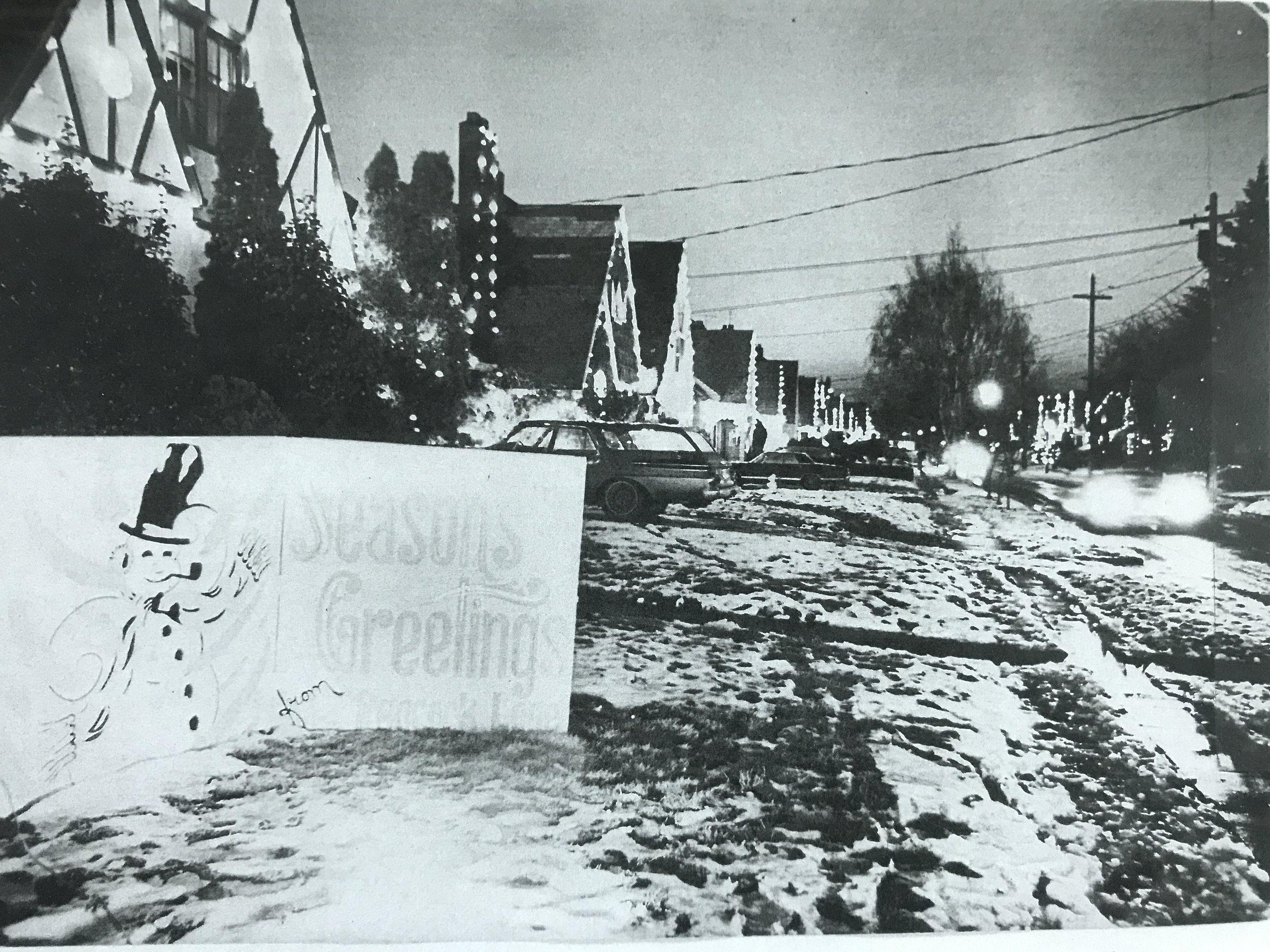 Peacock Lane, 1967