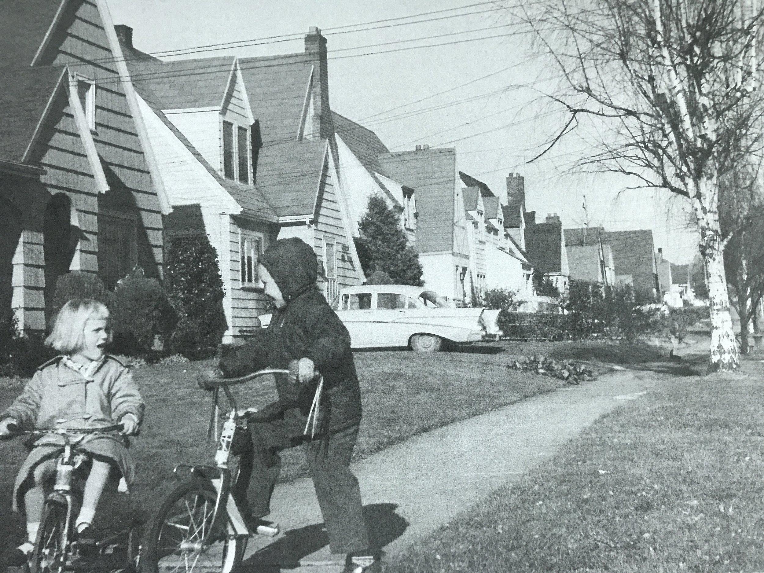 Peacock Lane, 1958