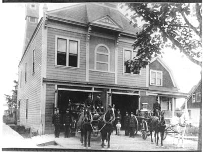 Original Belmont Fire Station