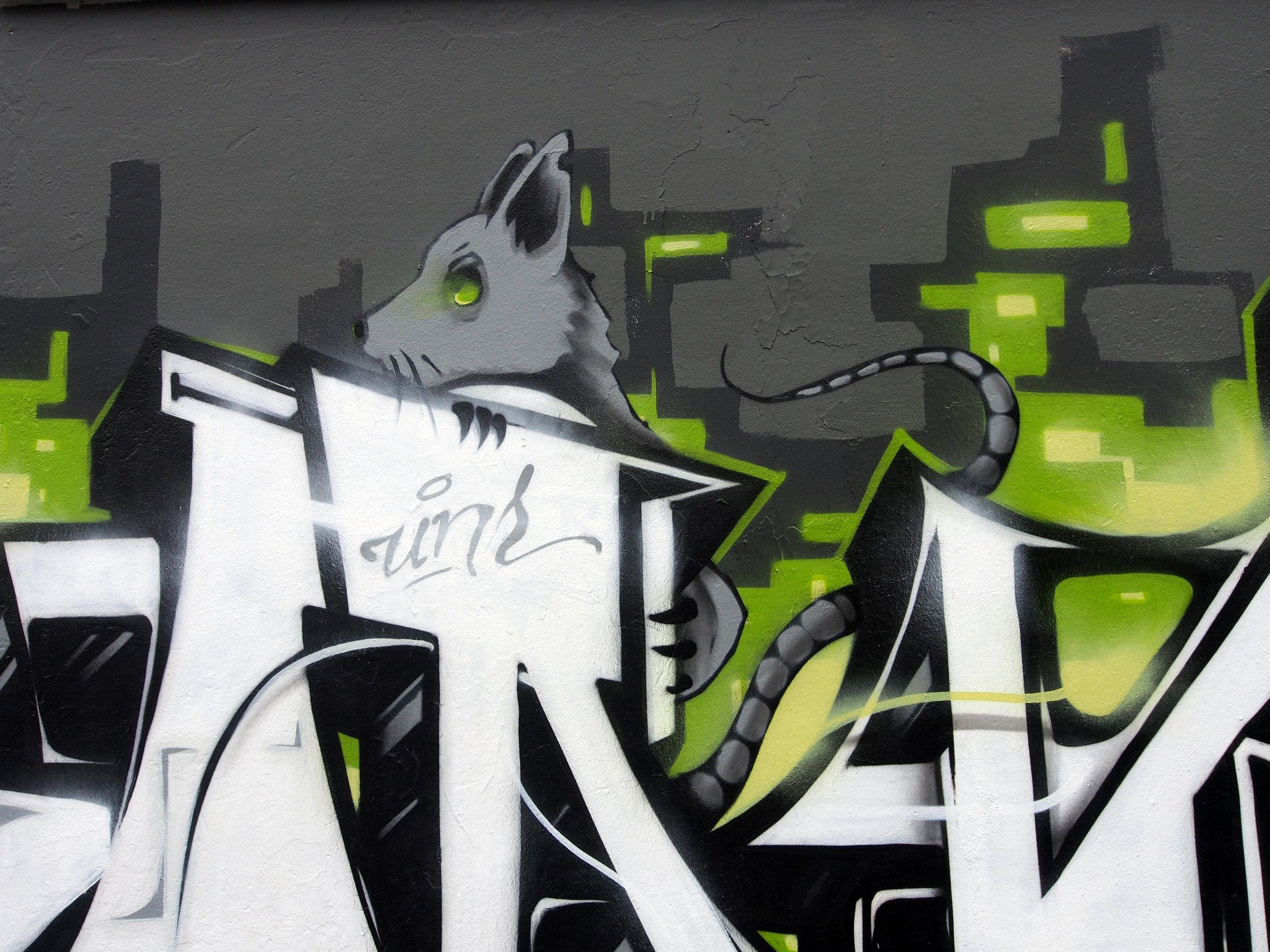 Detail of KANGO's piece. Photo: Tiffany Conklin