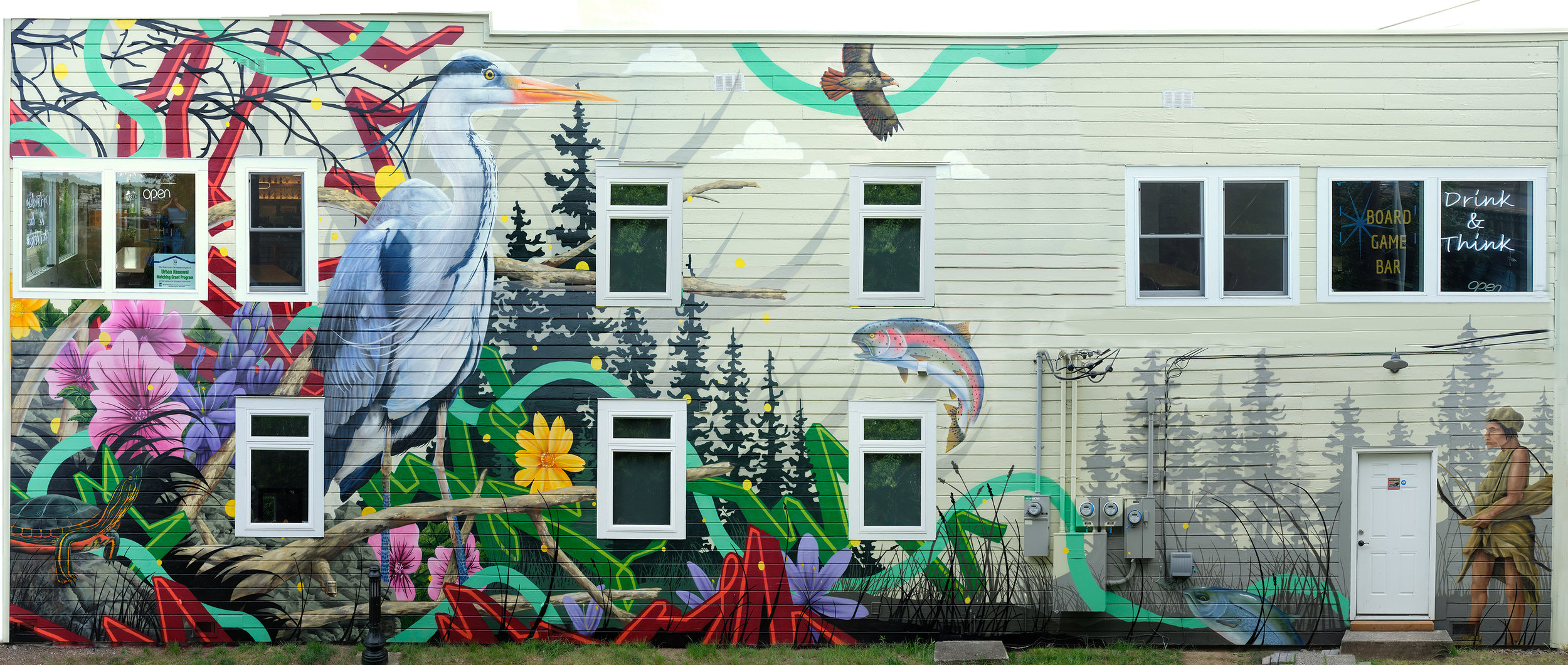 Final Mural by Jeremy Nichols