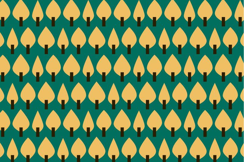 Trees-yellow