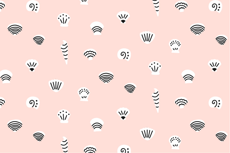 Sea Shells-pink