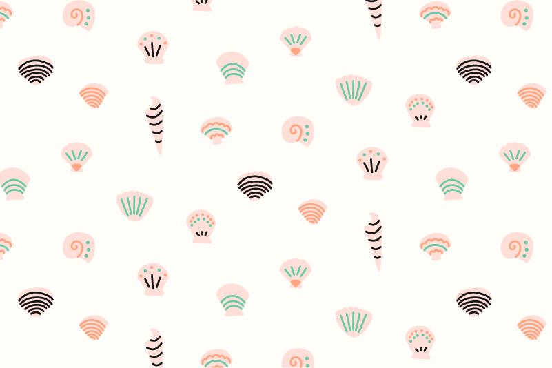 Sea Shells-white