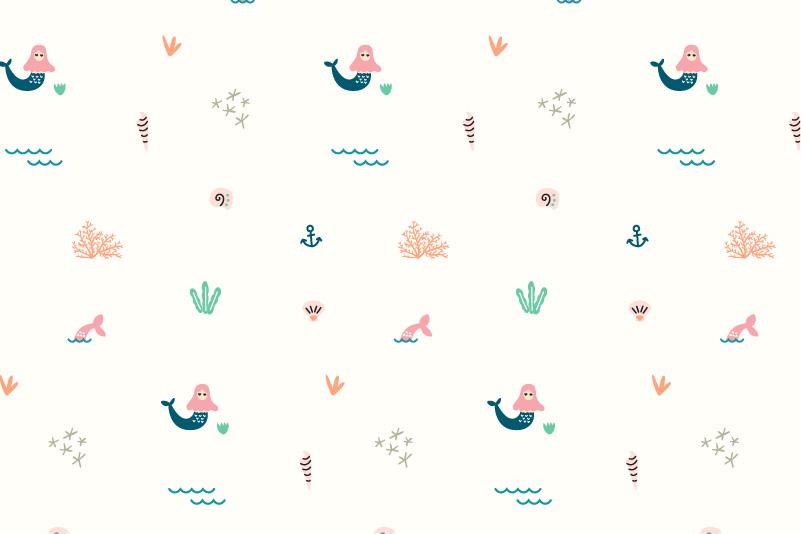 Sea Life-white