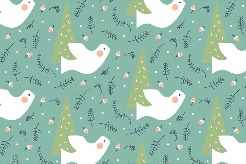 Woodland Dove-green