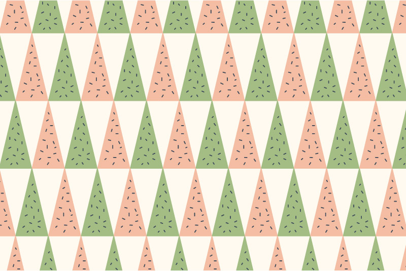 Geo Pines-pink