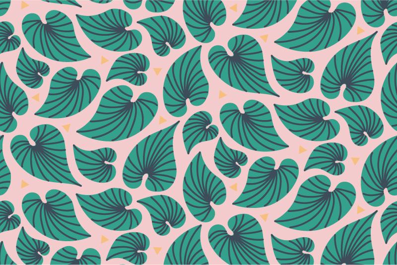 Bahama Leaves - pink