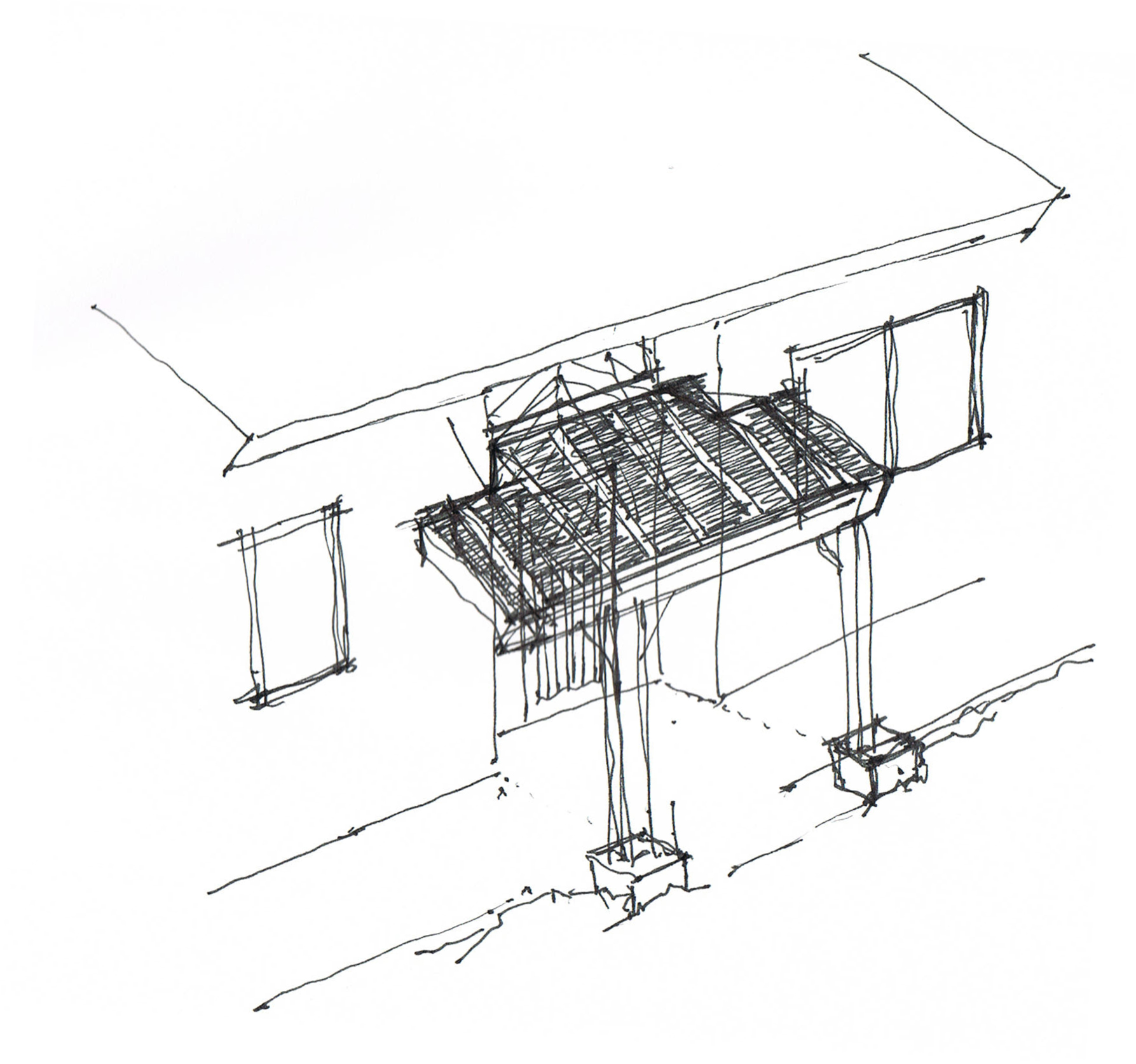 The isometric view