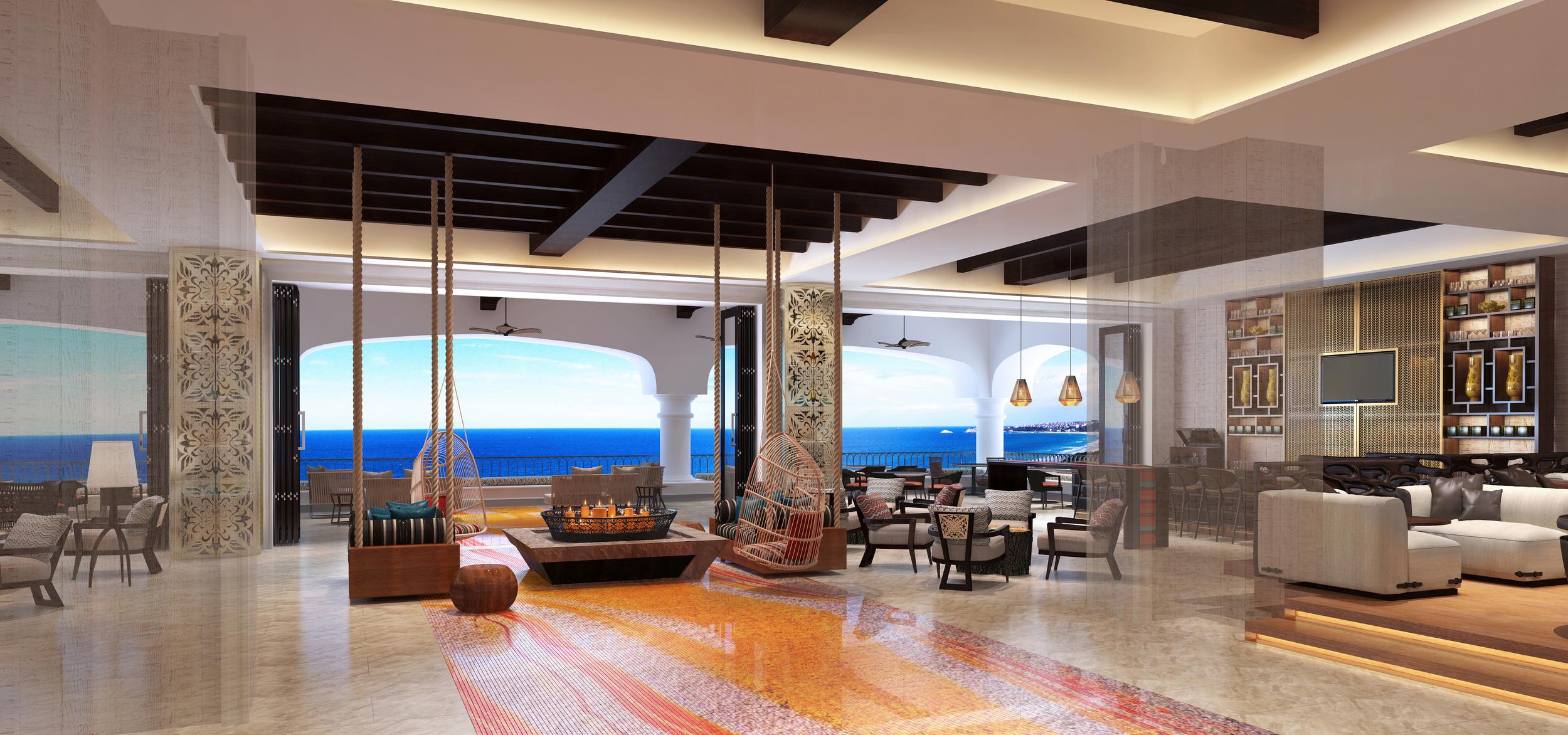 Lounge at The Hilton at Los Cabos