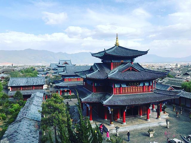 Current Location: Lijiang Old City, Yunnan Province 😍 #WearWeWentinChina