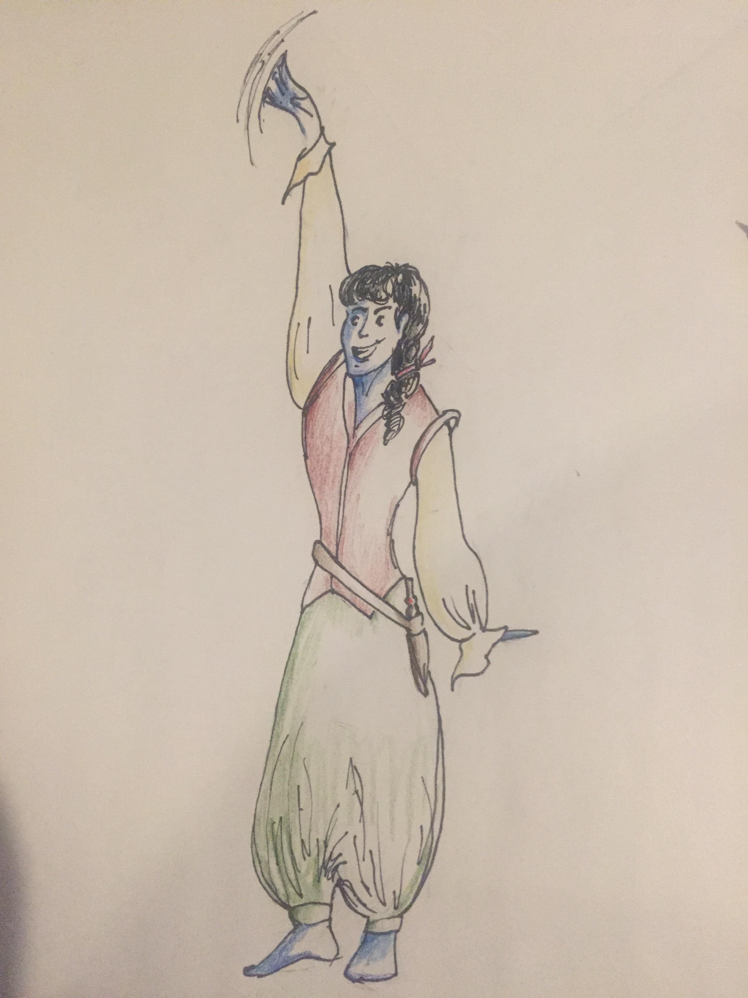Darren (by Sasha)