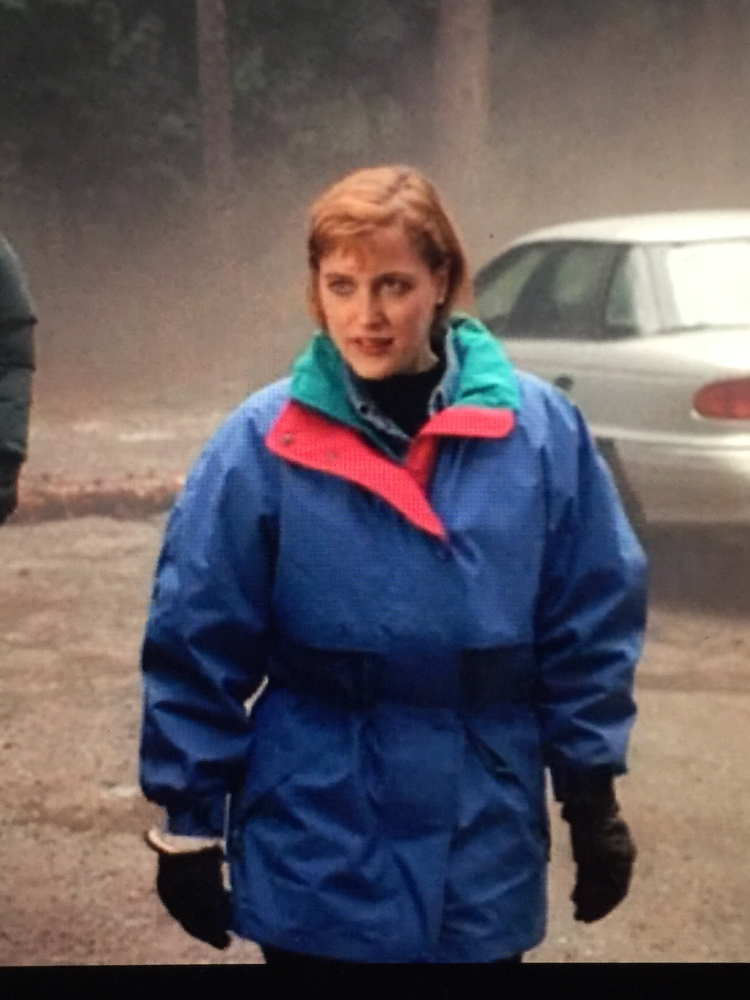 fig. 1, Scully's great rain jacket.