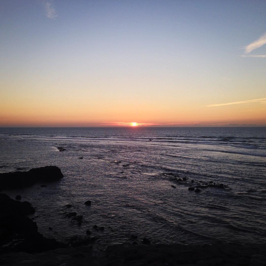 #Atlantic #Sunset ✌🏽️🌅
