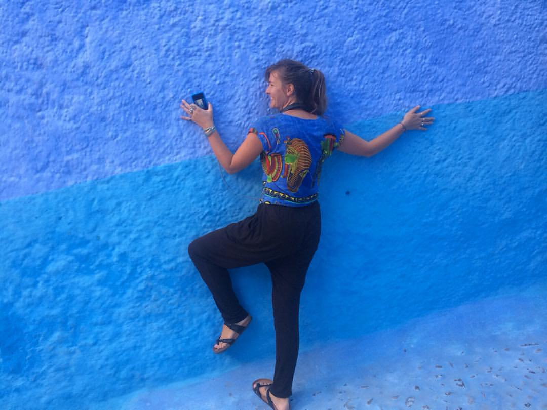 So I found heaven… 😱😇 and it's BLUE …🌀💙🙏🏽💠🎽🗾💎🔷🔵🔹#TheBlueCity #Chefchouan  (at Chefchouan, Morocco)