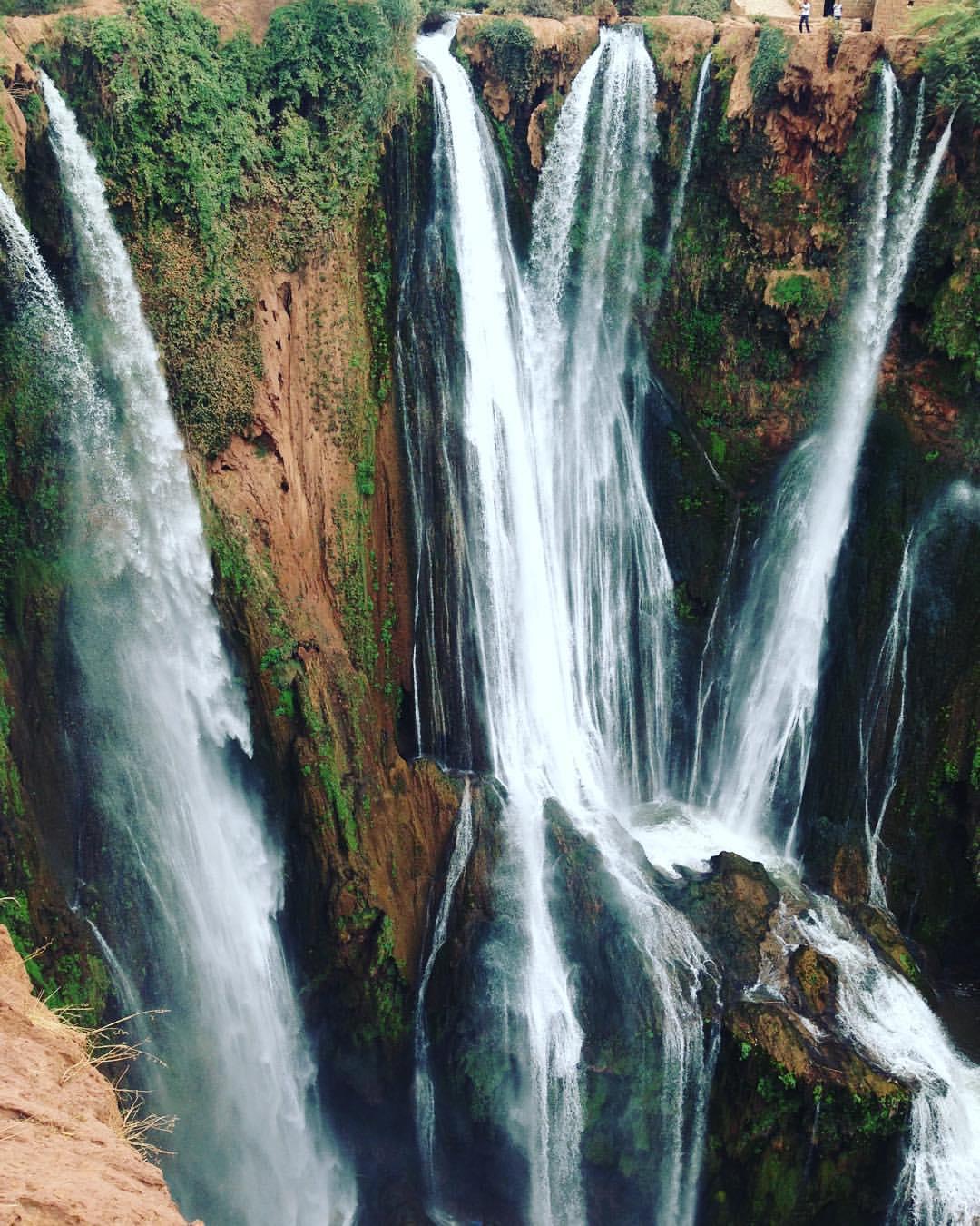 Cascade D'Ouzound - #Morocco 😱 #AtlasMountains #Atlas #Africa 💚💙💚💙💚💙💚💙💚💙💚