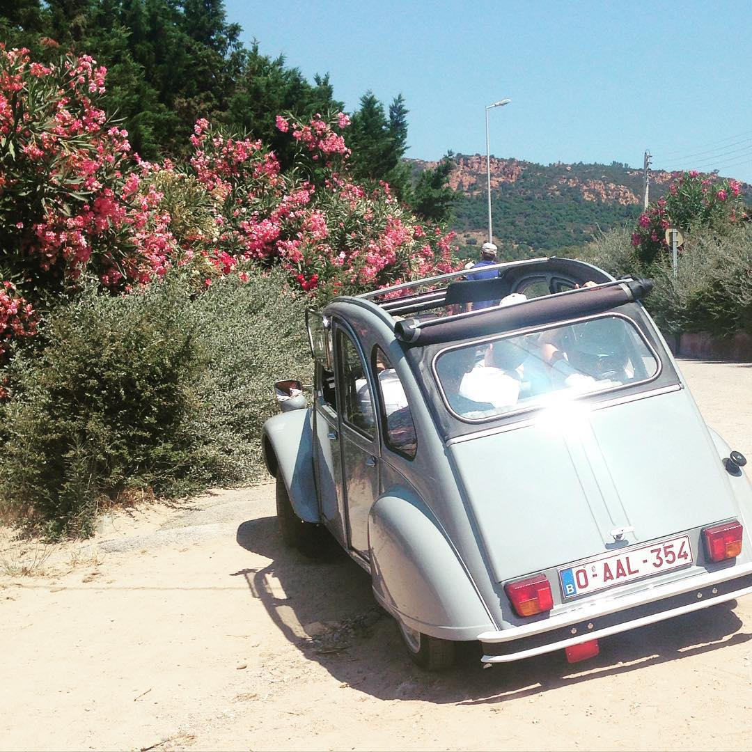 The great escape #Agay 🚙🌸#citroen #france