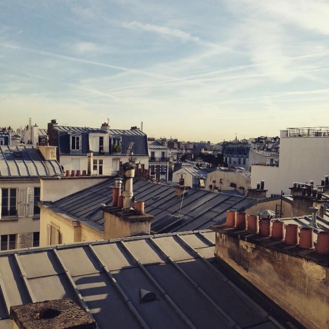 #GoodMorning #Pari 🌞🔝👌🏽 #Rooftops for daze