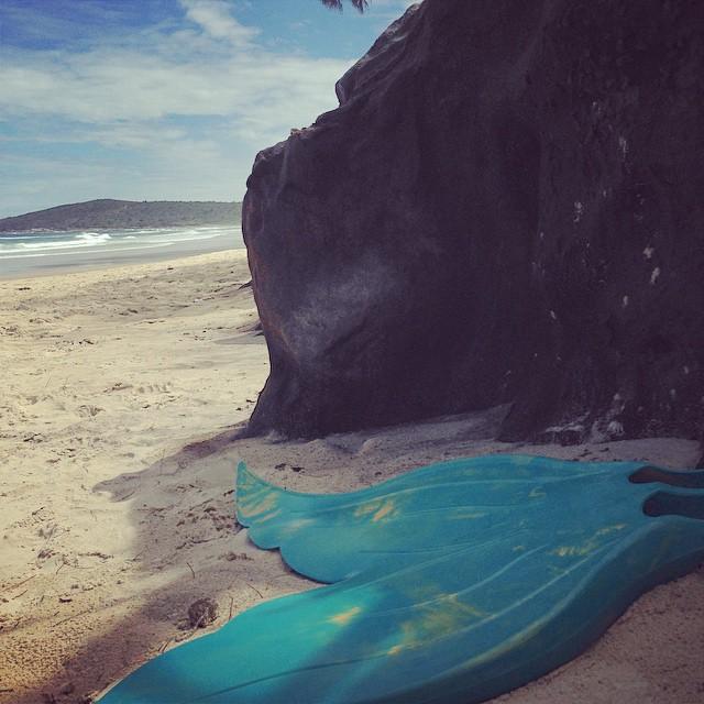 From where you'd rather be 🌊👌👙🌞🐬 #seeaustralia #seacave #merfin #mermaid #heaven