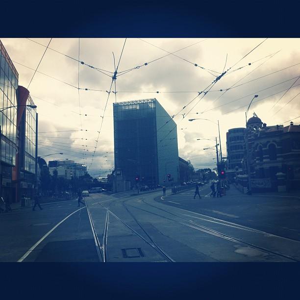 Melbourne Town (Taken with  instagram )