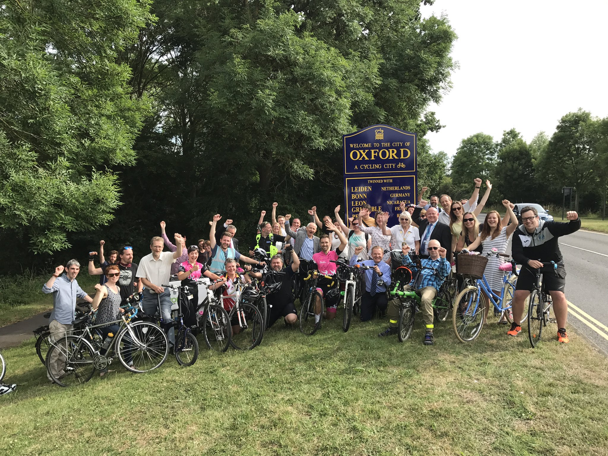 Jake's recent campaign success was getting Oxford recognised as a 'Cycling City'