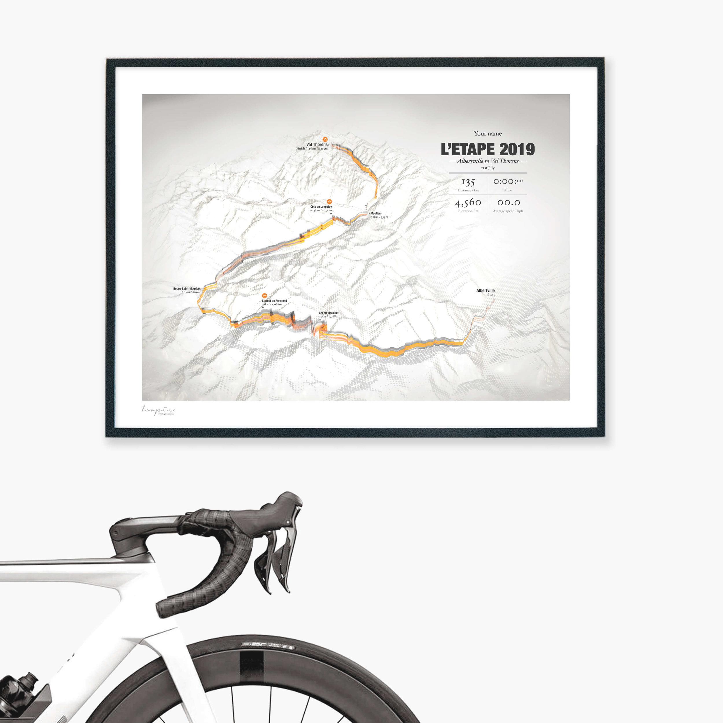 L'Etape2019 - Albertville to Val Thorens / 135km