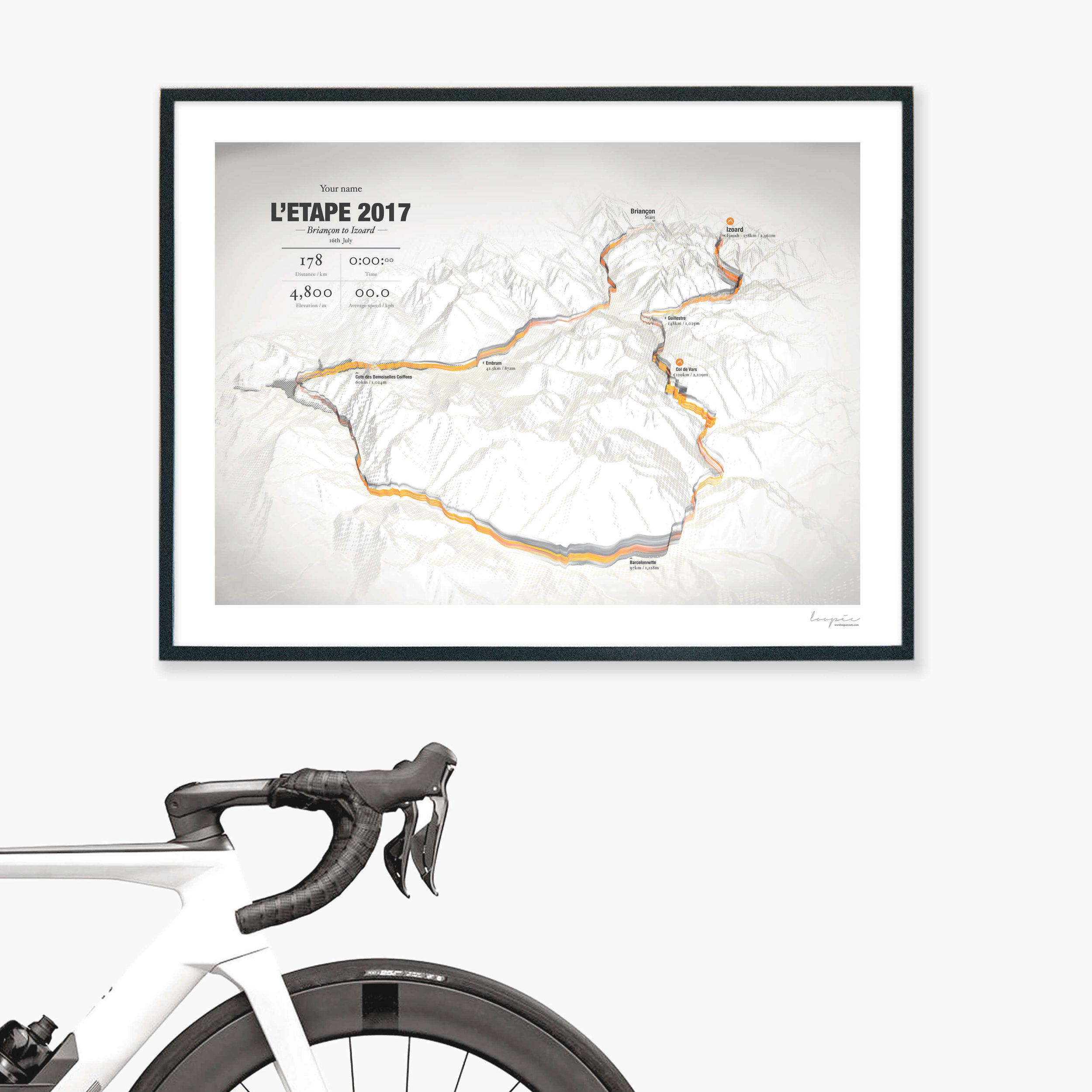 L'Etape2017 - Briançon to Izoard / 178km