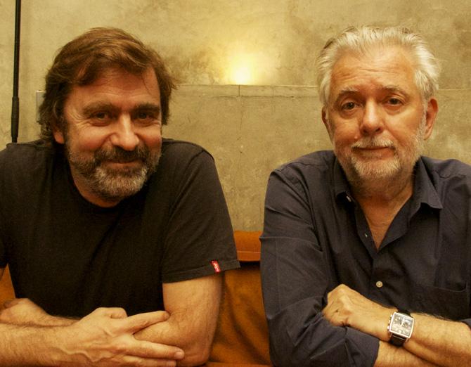 Toni Ricart dining with Duran at  Arturito