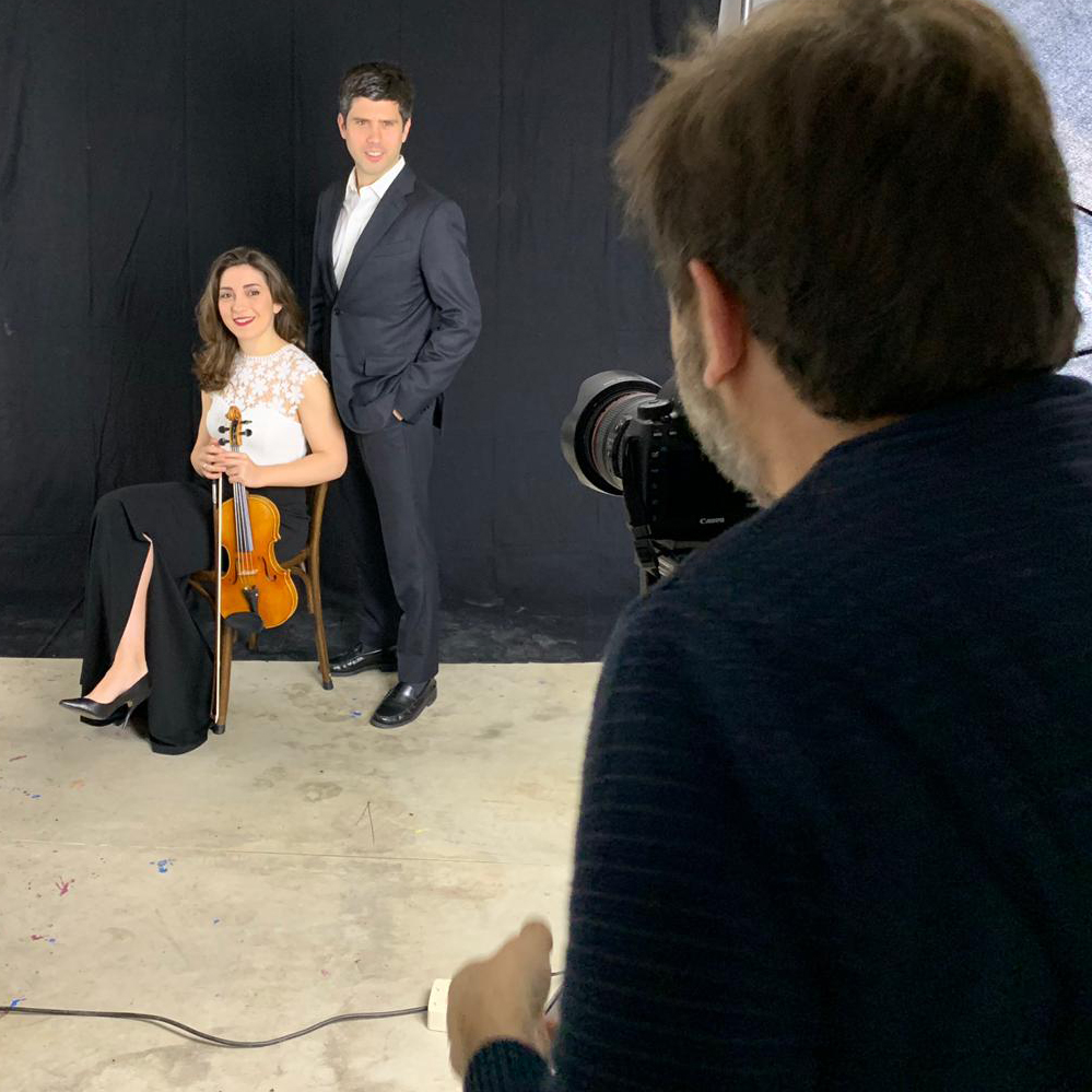 Shooting session with the wonderful Tempus Trio — Toni Ricart