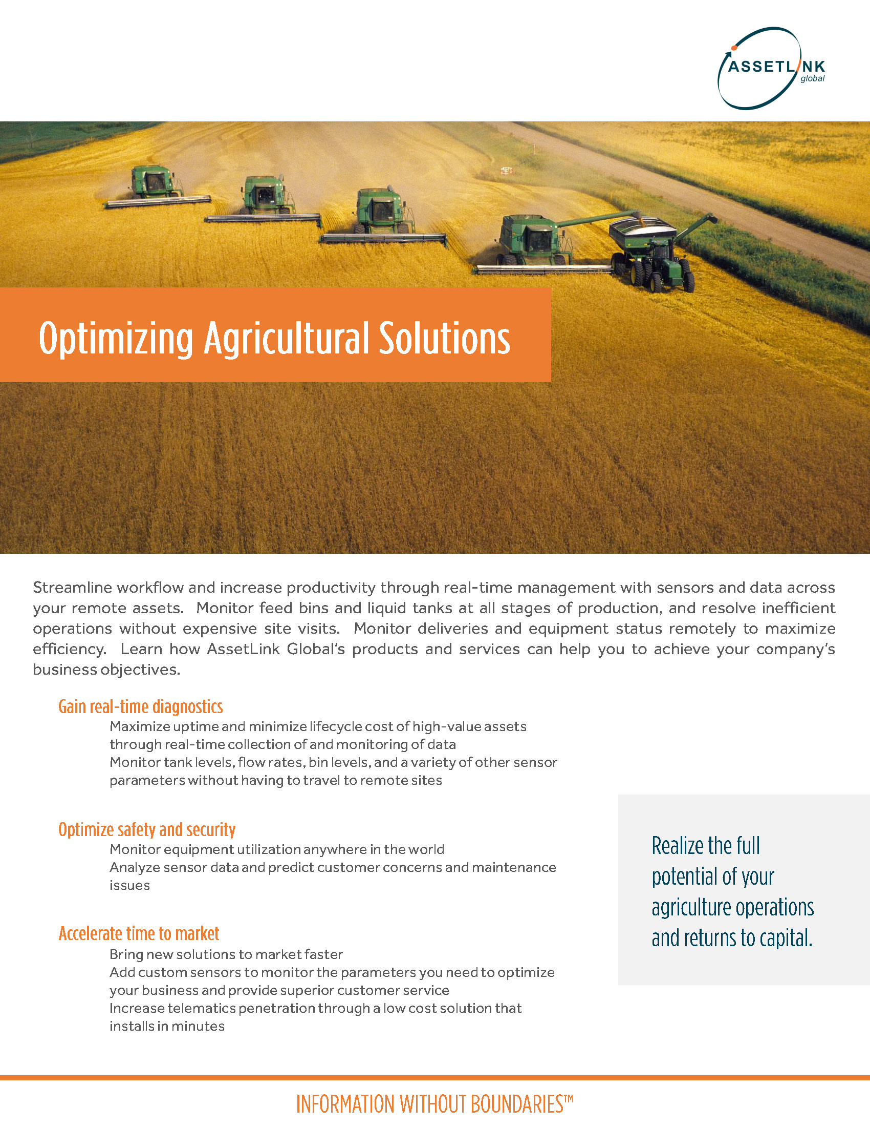 Optimizing Agricultural Solutions