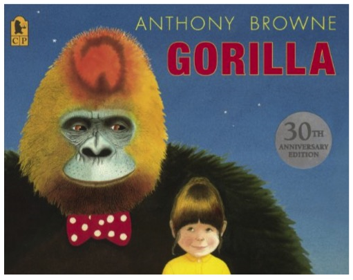 1983  Hannah loves gorillas but has never seen one. Her father's too busy to take her to the zoo - or for anything else come to that. For her birthday, Hannah asks her father for a gorilla - but is disappointed when she discovers that the gorilla she's got is just a toy one. But then something extraordinary happens...the toy turns into a real gorilla, who puts on her father's hat and coat and takes her off for a magical visit to the zoo...This is a celebratory 30th anniversary edition with a glorious new cover!  Winner of the Kate Greenaway Medal, The Kurt Maschler Award, Boston Globe Horn Book Award, Netherlands Silver Pencil Award.