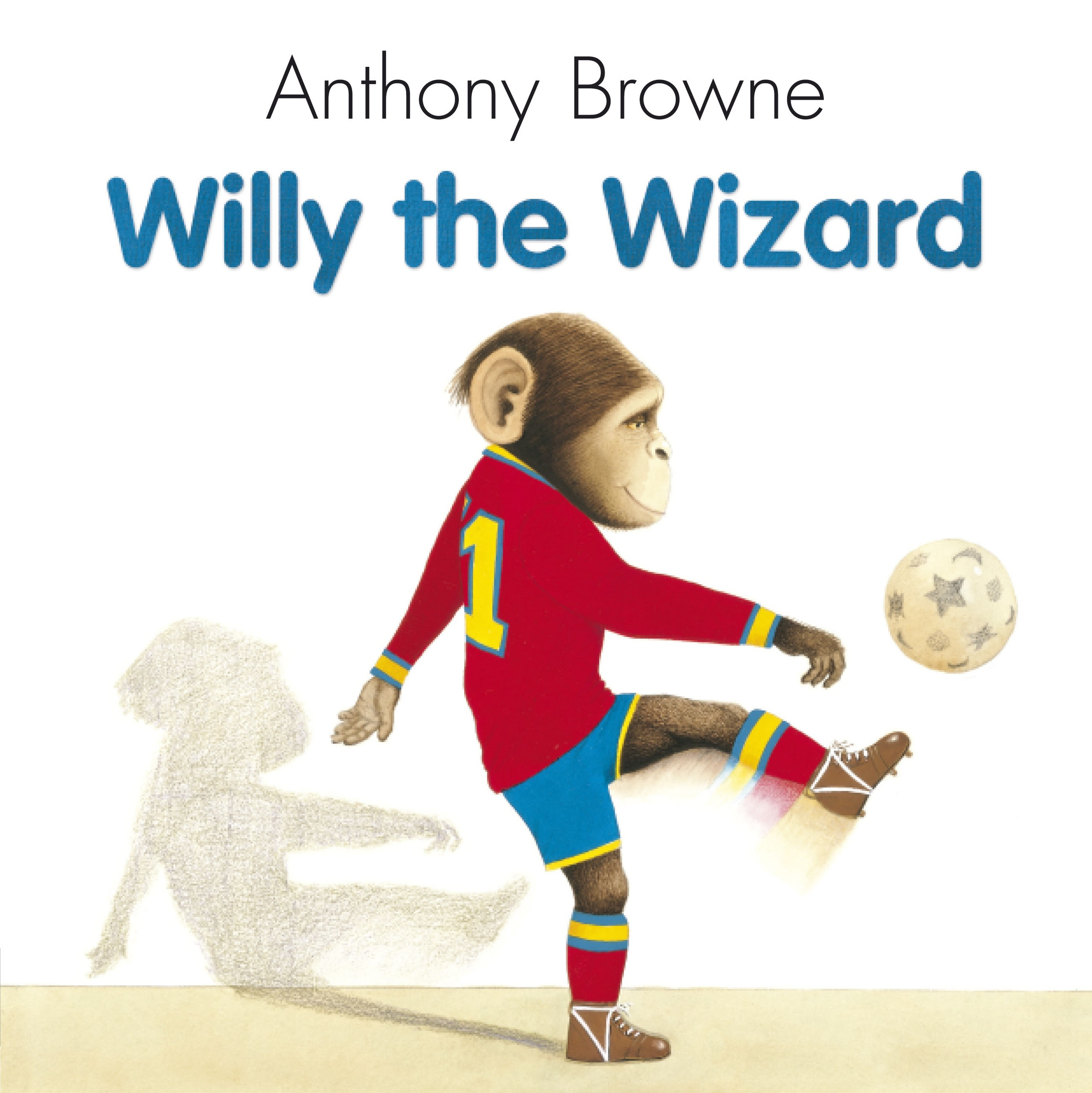 1995  Willy the chimp loves football and dreams of being a star player. But he doesn't have any boots so he's never been picked for the team. Then, one evening, Willy meets a mysterious stranger and his luck begins to change ...