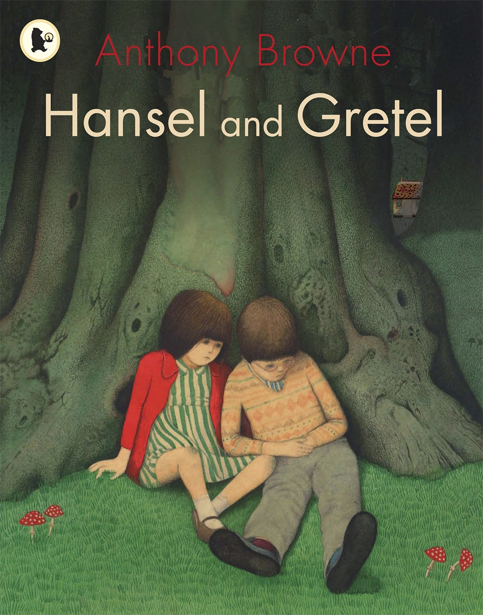 """1981  This is a retelling of the famous, dark fairytale from award-winning author-illustrator Anthony Browne. """"Hansel and Gretel"""" is perhaps the darkest and greatest of the fairytales from the Brothers Grimm. This extraordinary book brings the classic childhood tale to a new generation courtesy of one of the world's greatest picture book artists, Hans Christian Andersen Award-winner Anthony Browne.  Shortlisted for the Kate Greenaway Medal."""