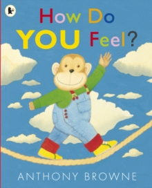 """2011  This is a book about feelings, for the very young child. How do you feel? Sometimes you feel happy, sometimes sad. Sometimes you even feel surprised. Supreme artist and Children's Laureate Anthony Browne brings all his understanding and skill to bear in this exploration of emotion for very young children. This book will reassure and help them understand how they feel, using simple words and pictures. Every parent can feel """"confident"""" that this is the perfect book. A companion volume to """"I Like Books"""" and """"Things I Like"""", Anthony Browne's young chimp is sure to be a hit with all little ones! This is an accessible first book of feelings, ideal for sharing."""